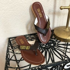Shoes - 5 for $35 NWOT Flip Flops from Puerto Rico